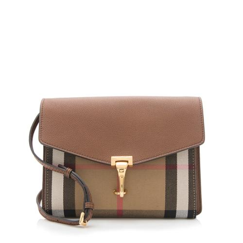 85b3bf5f9019 Burberry House Check Macken Small Crossbody Bag