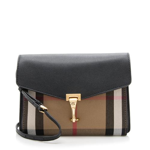 Burberry House Check Macken Small Crossbody Bag