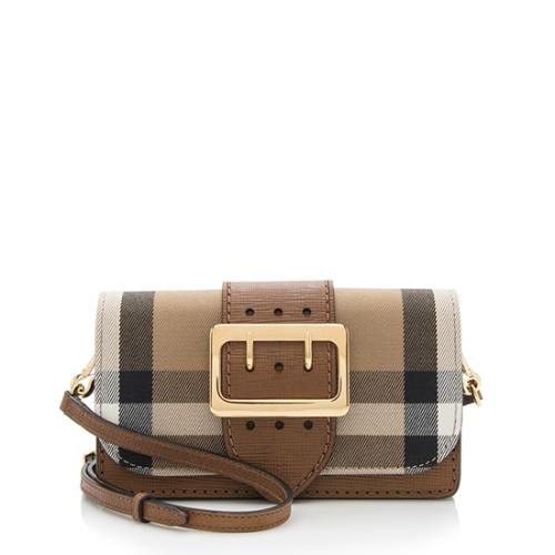 Burberry House Check Mini Crossbody Bag