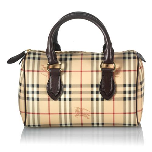 Burberry Large Satchel Handbag