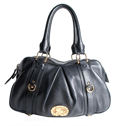 Burberry Leather Ashbury Satchel Handbag