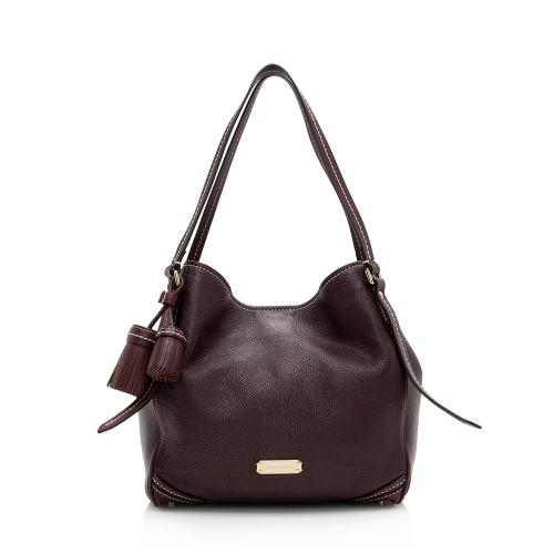 Burberry Leather Canterbury Small Shoulder Bag