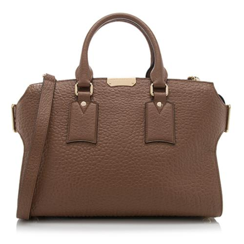Burberry Leather Clifton Medium Tote