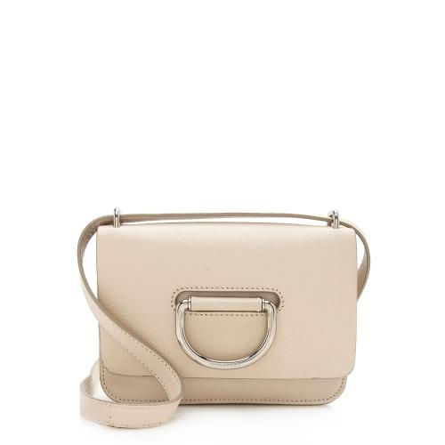 Burberry Leather D-Ring Mini Crossbody Bag