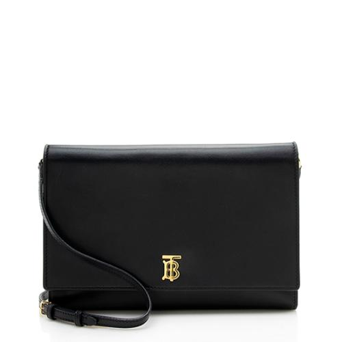 Burberry Leather Paxton Crossbody Bag