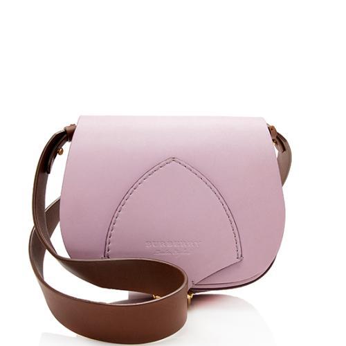 Burberry Leather Flap Shoulder Bag