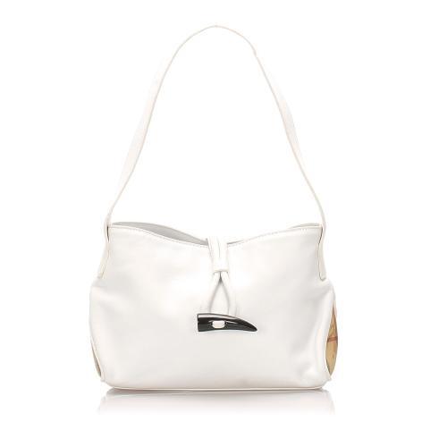 Burberry Leather Shoulder Bag