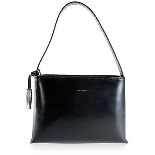 Burberry Leather Thin Shoulder Handbag