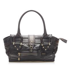 Burberry Manor Quilted Leather Bag