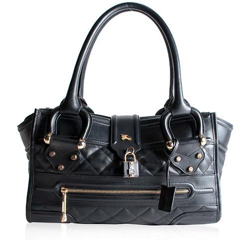 Burberry Manor Satchel Handbag
