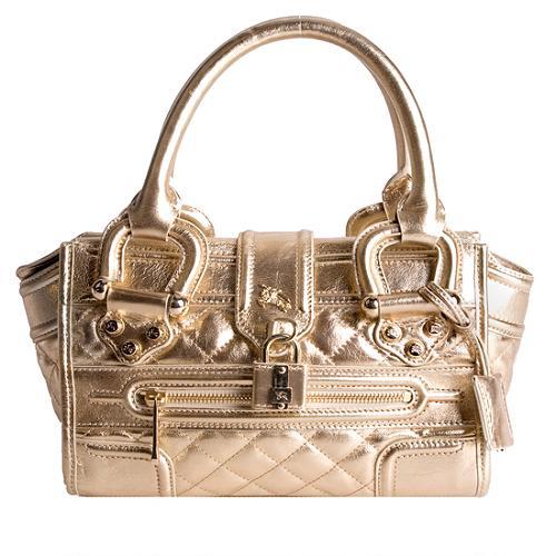 Burberry Mini Manor Satchel Handbag