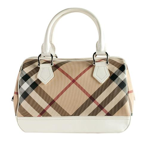 Burberry Nova Check  Chester  Satchel Handbag 1f4ba224fe2e0