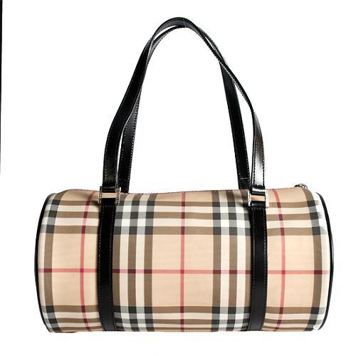 Burberry Nova Check Lola Shoulder Handbag