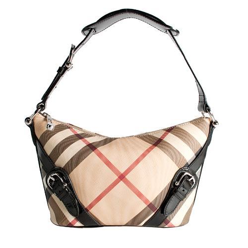 Burberry Nova Check Pouch Shoulder Handbag