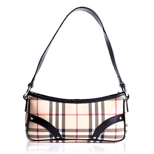 Burberry Nova Check Shoulder Handbag