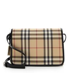 Burberry Nova Check Small Messenger Bag