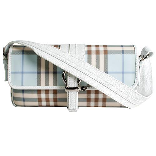 Burberry Nova Check Small Shoulder Handbag