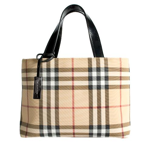 15e388addda3 Burberry-Nova-Check-Small-Tote 36104 front large 1.jpg
