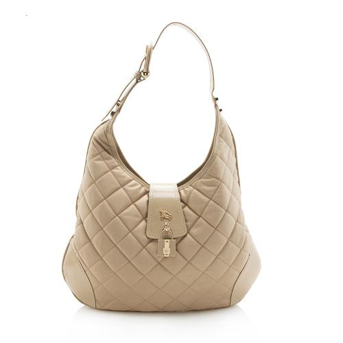 Burberry Nylon Brooke Hobo