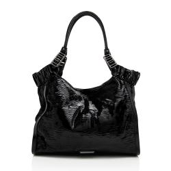 Burberry Patent Leather Large Tote