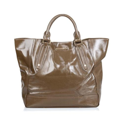 Burberry Patent Leather Somerford Tote