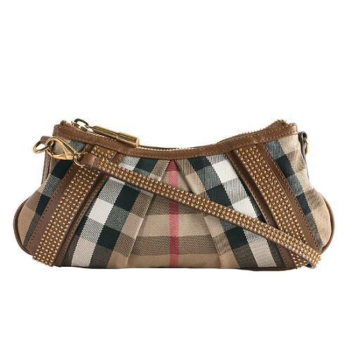 Burberry Phoebe Small Studded Shoulder Handbag