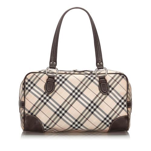 Burberry Nova Check Shoulder Bag