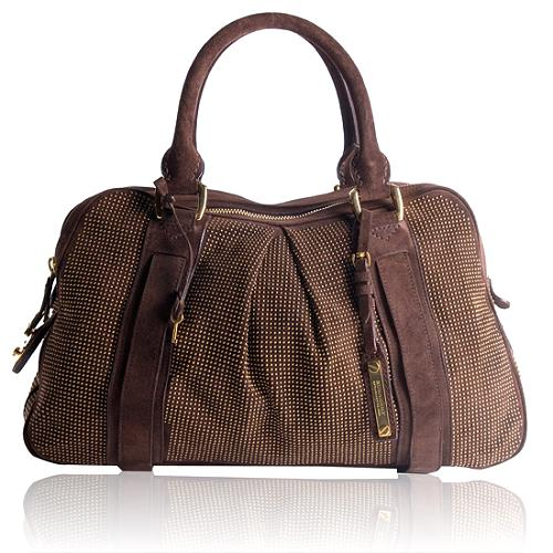 Burberry Prorsum Nella Knight Studded Satchel Handbag