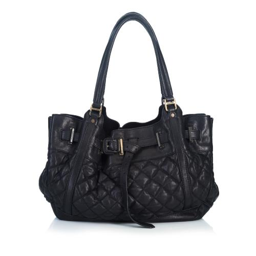 Burberry Quilted Leather Hobo