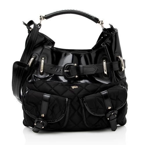 Burberry Quilted Nylon Bromley Shoulder Bag