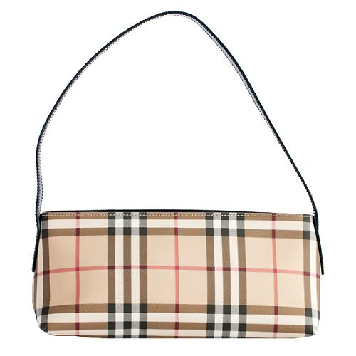 Burberry Small Nova Check Shoulder Handbag