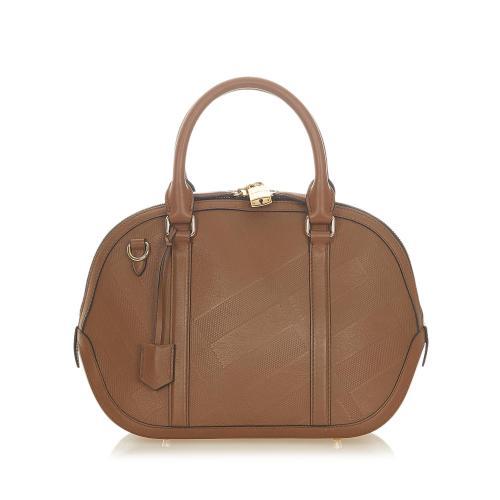 Burberry Small Orchard Leather Handbag