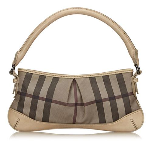 Burberry Smoked Check Shoulder Bag