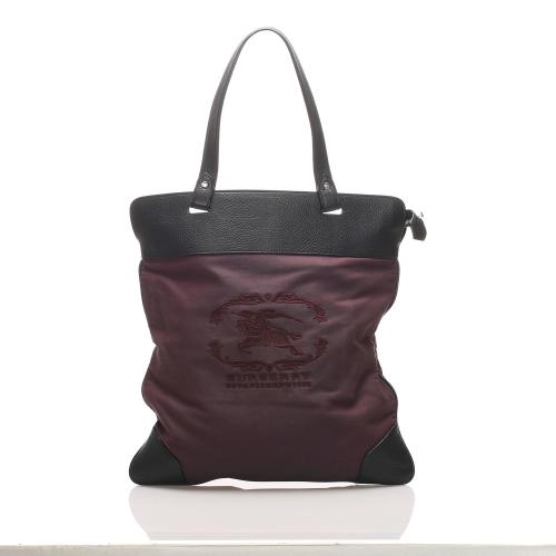 Burberry Stowell Cotton Tote Bag