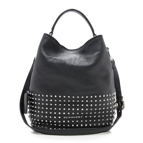 Burberry Studded Leather Susanna Medium Hobo
