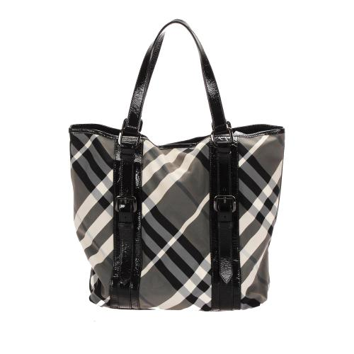 Burberry Supernova Check Tote