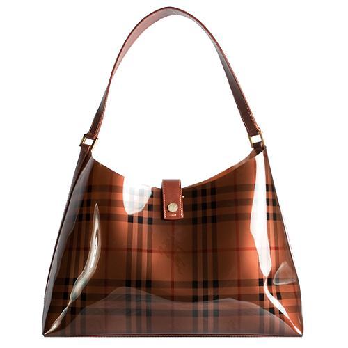 Burberry Transparent Jelly Shoulder Handbag