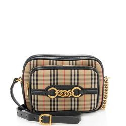 Burberry Vintage Check Link Camera Bag