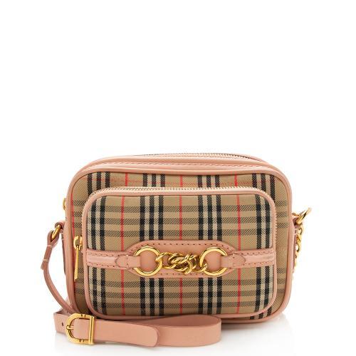 Burberry Vintage Check Link Camera Bag