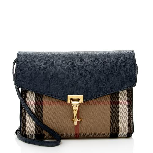 Burberry Vintage Check Macken Small Crossbody Bag