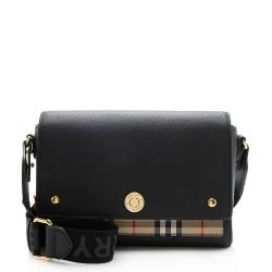 Burberry Vintage Check Note Crossbody Bag