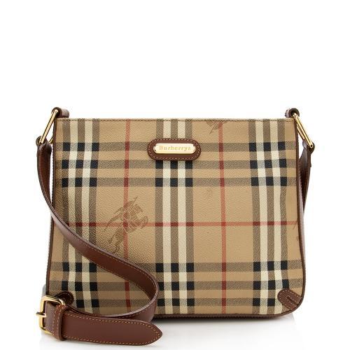 Burberry Vintage Haymarket Check Barnard Shoulder Bag