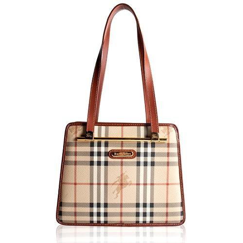 Burberrys Haymarket Check Tote