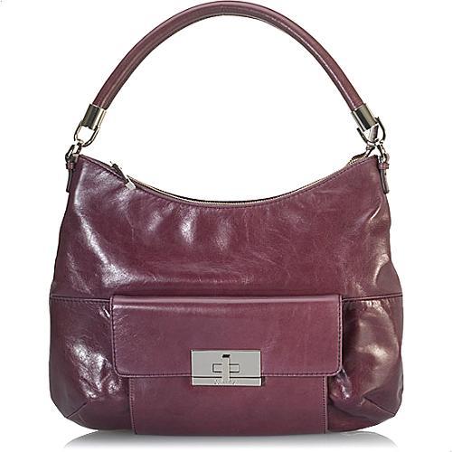 Calvin Klein Leather Hobo Handbag
