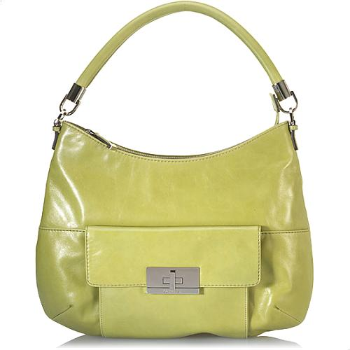 Calvin Klein Leather Hobo Handbag
