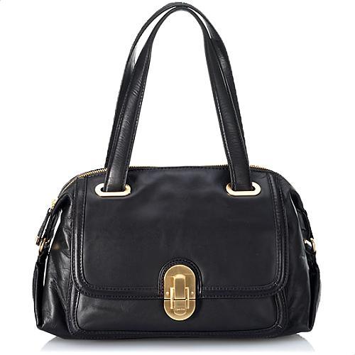 Calvin Klein Links & Locks Satchel Handbag