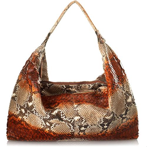 9b7136cab4 Carlos-Falchi-Horizontal-Glazed-Python -Large-Kite-Handbag 20671 front large 1.jpg