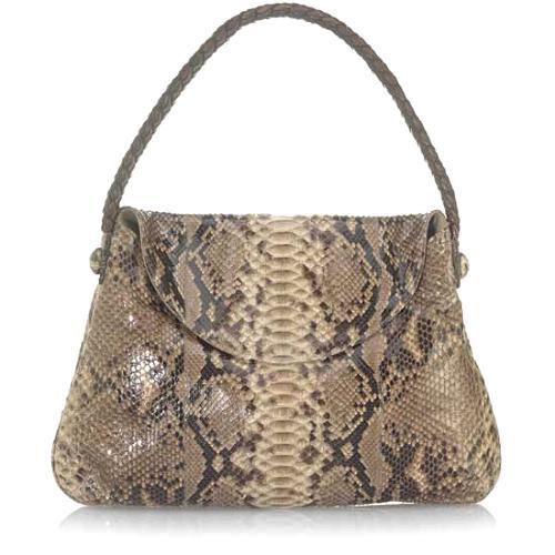 Carlos Falchi Short Flap Hobo Handbag