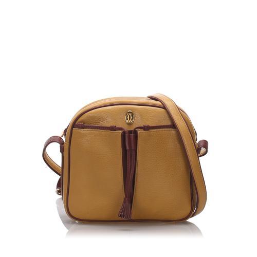 Cartier Leather Tassel Must de Cartier Shoulder Bag