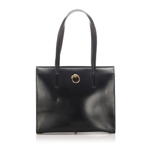 Cartier Leather Panthere Tote